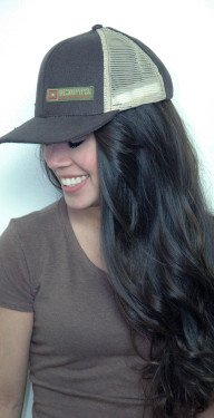 Hemp Hat Trucker Brown