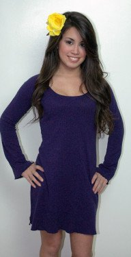 Hemp Tunic Purple