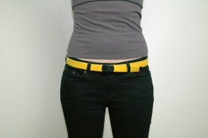 Hemp Belt Yellow Web