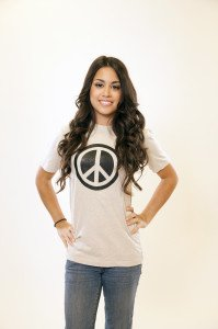 Hemp Peace Tee Natural