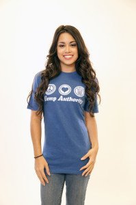 Hemp Authority Tee Blue