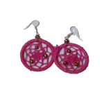 Small-Dream-Catcher-Earrings-Pink